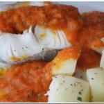 Pescada com Batatas ao Vapor