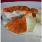Pescadas com Batatas a Vapor
