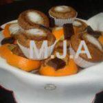 Queques de Laranja e Chocolate