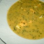 Sopa de Coentros com Ovo