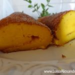 Torta Húmida de Laranja com Farinha Custard