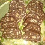 Salame de Avelã e Chocolate